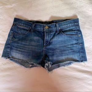 Citizens of Humanity Distressed Jean Shorts